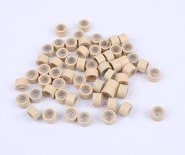 Accesorios para el cabello Herramientas Microbolas eceiving anillo recibir herramientas anillo de hebilla de hebilla de cinturón de aluminio accesorios de silicona