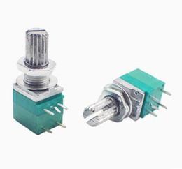 $enCountryForm.capitalKeyWord UK - 5pcs x 5pin RV097NS B5K B10K B20K B50K B100K B500K single with a switch 097 sealing potentiometer 15mm