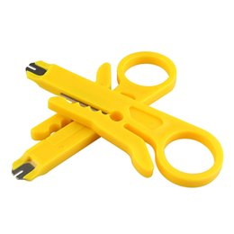 Chinese  Wholesale 1000pcs High Quality Rotary Punch Down Network UTP Cable Cutter Punch Down Wire Tool manufacturers