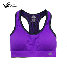 a420b44cd7241 Hot Selling Quick-drying Sport Bra Top Wicking Running Yoga Breathable  underwear Black Blue Green Yellow Orange Gray Purple