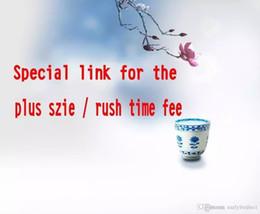 Nuovo collegamento speciale per spese extra $ 30 Servizio di ordine di sbalzo o spese per taglie Plus o altro