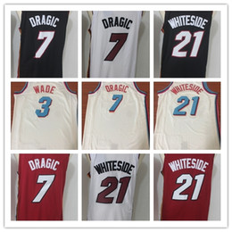 215aff6fc10 australia city edition 2018 new miami basketball jersey 3 dwyane wade 7 goran  dragic 21 hassan