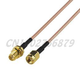 $enCountryForm.capitalKeyWord NZ - 5pcs 0.5ft 15cm RF SMA Jack bulkhead to SMA Plug Straight RG316 Pigtail Cable Antenna Feeder assembly Wireless Infrastructure