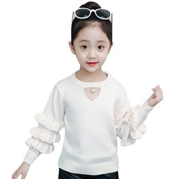 $enCountryForm.capitalKeyWord NZ - Children Sweaters Girls Pullover Knitted Coat Autumn Winter Woolen Cotton Kids Clothes Sweater For Girls 3 4 5 6 7 8 9 10 Years