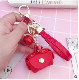 $enCountryForm.capitalKeyWord NZ - Korean cute bag key chain, small wrapping string, key chain ring pendant accessories