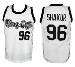 Tupac Shakur  96 Thug Life Retro Classic Basketball Jersey Mens Embroidery  Stitched Custom any Number and name Jerseys e4d00c28f