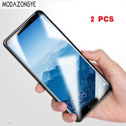 $enCountryForm.capitalKeyWord Canada - 2pcs For Huawei Mate 10 20 20X pro Tempered Glass Huawei Mate10 pro Mate 10pro Screen Protector Full Cover Glass Toughened Film