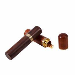 $enCountryForm.capitalKeyWord UK - Pearwood Wood Toothpick Holder Box Capsule Case Handmade Craft Room Decorate Blackwood Rosewood Outdoor Use 2016 New