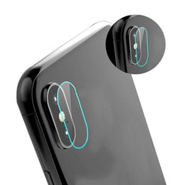 $enCountryForm.capitalKeyWord UK - Rear Back Camera Lens Fiberglass Protective Film Flexible Soft Tempered Glass Screen Protector For iphone X 100PCS