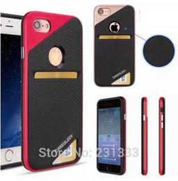 $enCountryForm.capitalKeyWord Australia - Caseology Case For Iphone x 8 7 6 6S Plus Hybrid Card Slot Soft TPU PC Case Shockproof Slim Armor Skin Cover
