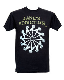L Wheel Canada - Fashion 2018 Summer JANE'S ADDICTION - LADY WHEEL - Official Licensed T-Shirt - New M L XL Brand Clothing Hip-Hop Top