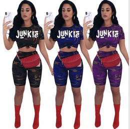 $enCountryForm.capitalKeyWord Canada - Women's Junkie Comoflog Tracksuit With Shorts Outfit Sets Sexy Crop Top with Shorts Camo Color Sportswear Casual Clothes US Independence Day