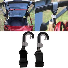 Infant Hangers Australia - 2Pcs Infant Baby Stroller Double Rotate Hook Holder Pram Hook Pushchair Hanger Baby Stroller Accessories