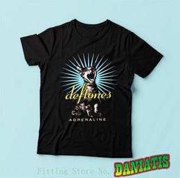 $enCountryForm.capitalKeyWord NZ - Deftones Adrenaline Metal Band Drowning Pool T Shirt Sz S M L Xl 2xl Shirts Summer Short Sleeve Novelty