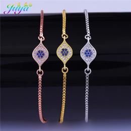 Greek Gifts Wholesale Australia - 2018 New Arrival Adjustable Gold Bracelets Handmade Greek Evil Eye Charm Connector Bracelets For Women Men Turkish Jewelry Gift