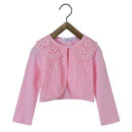 $enCountryForm.capitalKeyWord Australia - 2018 Baby Girls Outerwear 100% Cotton Pink Baby Girl Jacket Thin Cardigan Coat For 12 24 Month Girls Clothes RKC175002