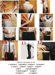 Discount slim fit gray suit - Payment link NO 1