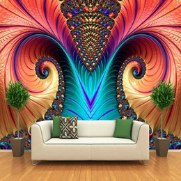 Hearty Custom Photo 3d Wallpaper High-grade Wood Carving Jinlong Sofa Tv Background Wall Decoration Mural Wallpaper Painting Supplies & Wall Treatments