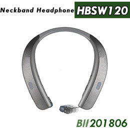 $enCountryForm.capitalKeyWord Australia - HBS W120 Bluetooth Wireless Headphones Top Quality CSR 4.1 Neckband Sports Earphones Headsets With Mic Speakers Newest Arrival For LG TONE