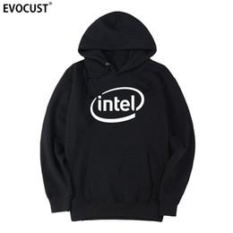 Intel s online shopping - Intel men Hoodies Sweatshirts women unisex Combed Cotton
