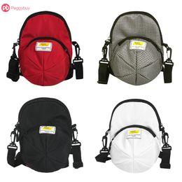 $enCountryForm.capitalKeyWord Canada - Unique Designable Canvas Hat Shape Women Girls Shopping Chest Handbag Shoulder Multiple Colors Messenger Bags