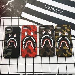 Venta al por mayor de Caso de la cubierta del teléfono de Camo boca diseño de la calle moda para iPhone 6S 6S plus 7 8 Plus X caja del teléfono Dope Fundas Coque