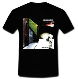 Band Sisters UK - Killing Joke whats this for English rock Band The Sisters of Mercy T-shirt S-2XL Printed t shirt Men t shirt Casual Tops