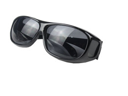 $enCountryForm.capitalKeyWord UK - 150pcs HD Night Vision Driving Sunglasses Men Yellow Lens Over Wrap Around Glasses Outdoor Cycling Dark Driving UV400 Protective Goggles