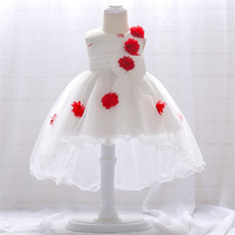 18775ebce17d Baby Girl Dresses Formal Wedding Party Princess Skirt Baby Girls Clothes  Kids Clothing 1 Years Baby Girls Birthday Dress
