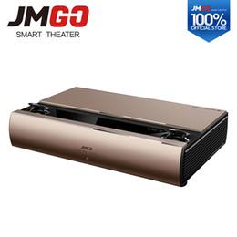 Proyector Wifi Australia - JMGO SA, Laser Projector, 1920x1080 Resolution, 2200 ANSI Lumens, Full HD Android Beamer, WIFI Proyector, HDMI Bluetooth Speaker
