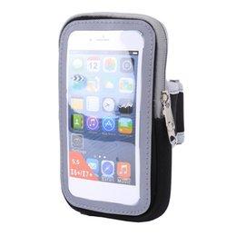 MenWomen спортивный инвентарь запустить мешок аксессуары Iphone 5s / 6 / 6s / Plus работает BagsTouch экран сотовый телефон руки пакет