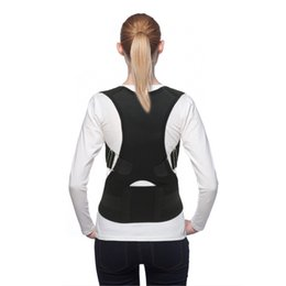 Wholesale Protections for back belt articulated braces and straps shoulder strap posture magnetic therapy posture corrector brace