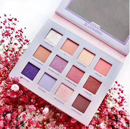 quality eye shadow Australia - Hot makeup NABLA SOUL Blooming 12colors Eyeshadow Palette Shimmer Matte Eye Shadow High quality DHL shipping