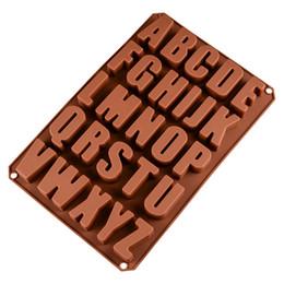 $enCountryForm.capitalKeyWord UK - silcone cake mould letter molds 26 hole English letter chocolate mold food grade non-stick baking tool Hot sale hot style CMC06