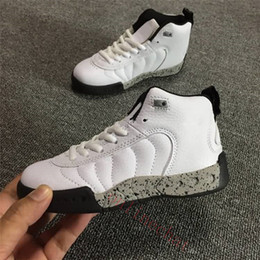 Discount toddlers sneakers shoe - Space Jam Bred Concord Gym Red Vapormax Tn Kids Retro Shoes Children Boy Girls 12s Midnight Navy Sneakers Toddlers Birth