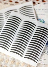 $enCountryForm.capitalKeyWord Australia - NEW ARRIVAL Black Stripe Make Up Eyeliner Sticker Double Eyelid Transfer Tape Eye Shadow Smoky Tattoo Free Shipping 720pair lot
