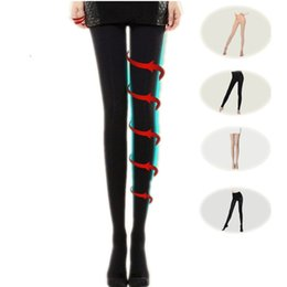 302a6b93c80 Women s Tights 680D Sexy Fat Burning varicose veins thin leg stocking  pantyhose anti-off silk stockings sexy tights stockings hosiery M-XL