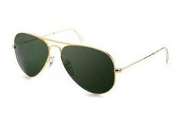 China Glasses Sunglasses Australia - hot gold 58mm case china luxury fashion brand new Glass lens Men Women pilot Sunglasses Sport Sun glasses With box
