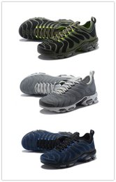 Green Plastic Army Men Canada - Cheap Rainbow Green TN Ultra Men Running ShoesPLUS TN ULTRACaushion Athletic Sports Sneakers With Box size 40-46