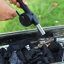 Metal Air Australia - Outdoor camping stove flame torch fire starter BBQ Hand Crank Powered Fan Air Blower for Picnic Barbecue Fire Outdoor Camping Equipment