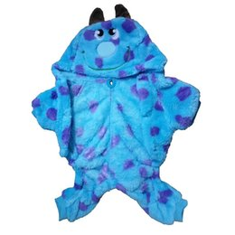 Dragon Dogs Australia - Soft Fleece Pet Clothes Cute Party Dress Up Dog Winter Clothing Coat Dragon Dog Clothes For Small Dogs French Bulldog Apparel