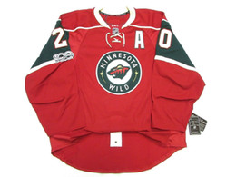 Hockey jersey suter For Sale - Cheap custom Ryan Suter MINNESOTA WILD HOME th ANNIVERSARY EDGE JERSEY stitch add any number any name Mens Hockey Jersey XS XL