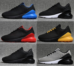 boxing games 2018 - famous Brand high quality shoes man 270 style Running Shoes outdoor shoes breathable mesh Trainers with original box men