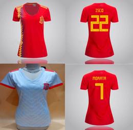 $enCountryForm.capitalKeyWord Canada - Womens Spain Home Away Soccer Jerseys 18 19 Morata ISCO ASENSIO Silva Ramos Grils Football Shirt Espana World Cup 2018 Lady Soccer Uniforms