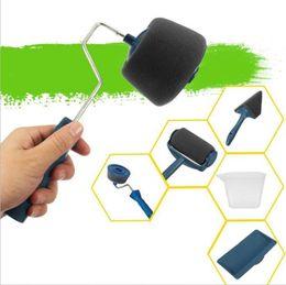 $enCountryForm.capitalKeyWord UK - New Pattern Roller Brush Multi Function Handle Tool Flocked Edger Office Room Wall Painting Home Garden Paint Brushes Furniture 25jm jj