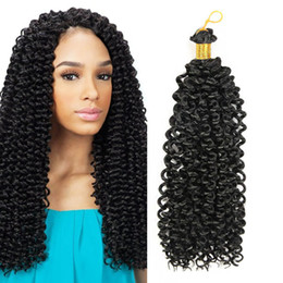 Venta al por mayor de Freetress Crochet Braid 14''30roots / pack Crochet Braids Gancho de pestillo Expresiones de cabello Kanekalon Trenzado de cabello Crochet Twist Extensiones de cabello