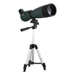 Chinese  Beileshi 25x70 Spotting Scope with Tripod Professional Bird Watching Scope Monocular Telescope Angled Spotting Scope manufacturers