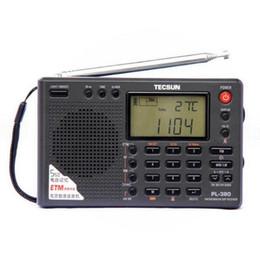 Discount dsp radios - Original PL380 Digital DSP ETM PLL World Band Demodulation Stereo Portable Radio FM LW SW MW DSP Digital Receiver Tecsun
