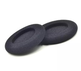 Discount foam headphone covers - 100x pairs No sew line 50mm Foam pad cushion eartip cover 5cm for wireless Headphone pp