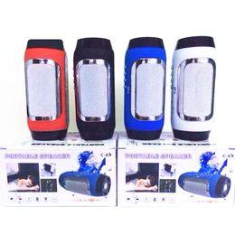 Call Center phones online shopping - C Wireless Bluetooth Speaker Portable Stereo Pill Pulse Speaker Build in Handsfree Mic FM TF Card Dual Loudspeaker Phone Call